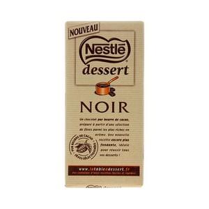 Chocolat noir 52% à pâtisser Nestlé dessert (1 tablette x 205 g)