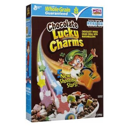Céréales Lucky Charms chocolat, General Mills (340 g)