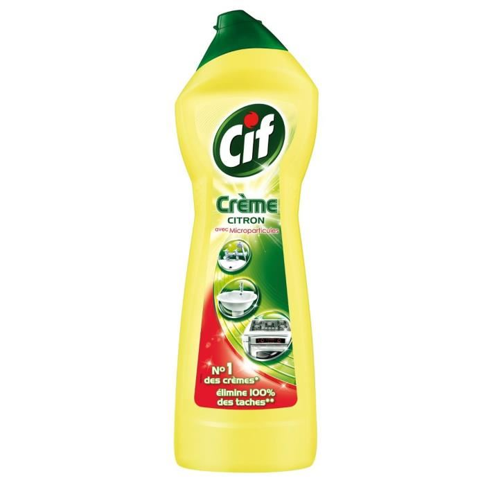 Crème citron, Cif (75 cl)