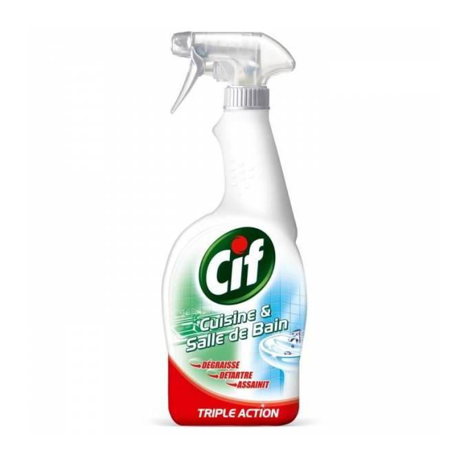Nettoyant pistolet cuisine et salle de bain, Cif (750 ml)
