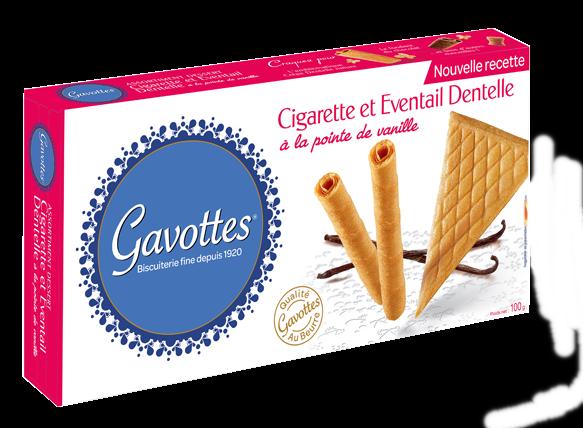 Cigarettes et éventail dentelle, Les Gavottes (100 g)