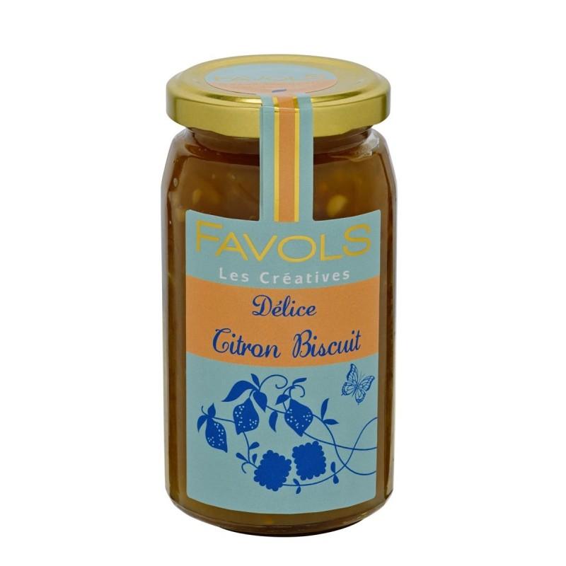 Confiture citron biscuit Favols (270 g)