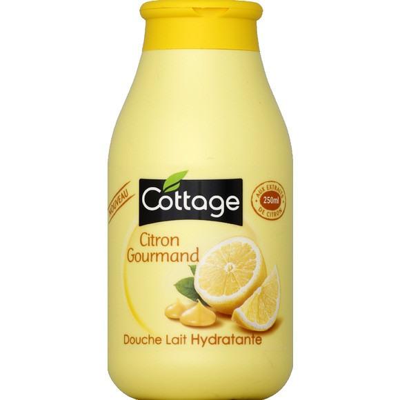 Douche lait Hydratante Citron Gourmand, Cottage (250 ml)