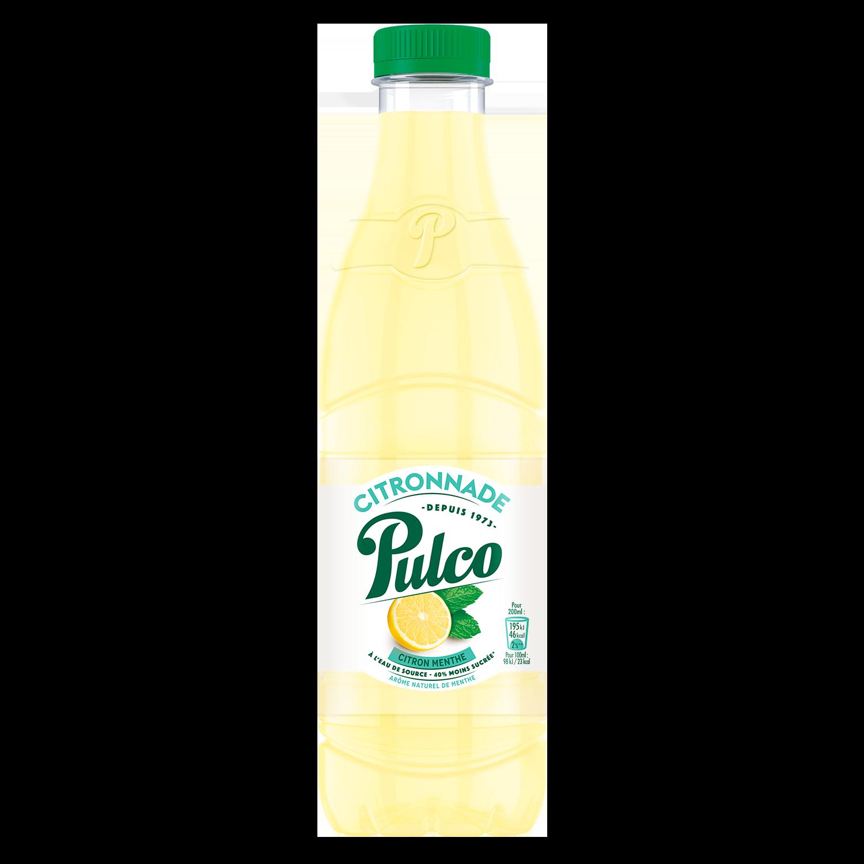 Citronnade citron & menthe, Pulco (1 L)