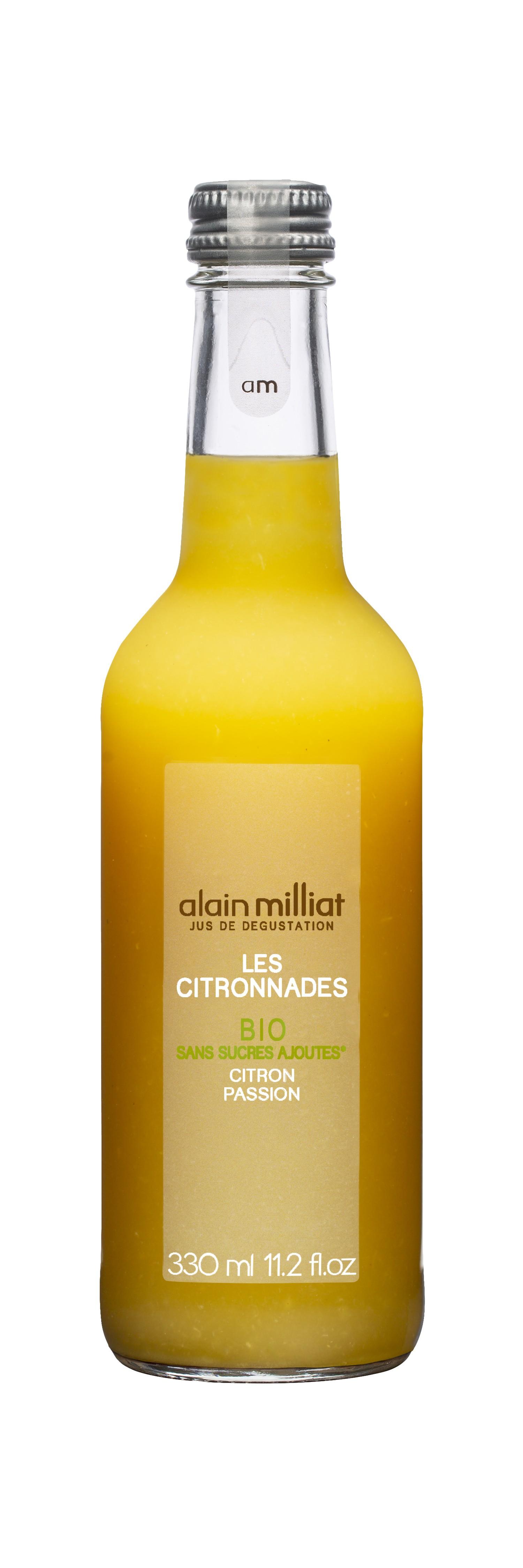 Citronnade Citron - Passion BIO, Alain Milliat (33 cl)