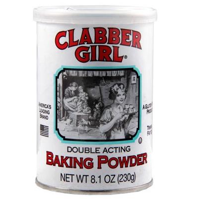"Levure chimique ""Baking Powder"", Clabber Girl (284 g)"
