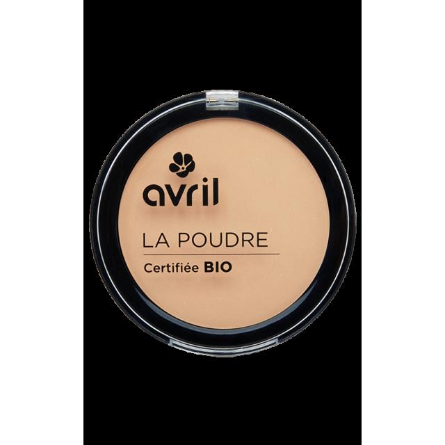 Poudre compacte claire certifiée BIO, Avril (7 g)