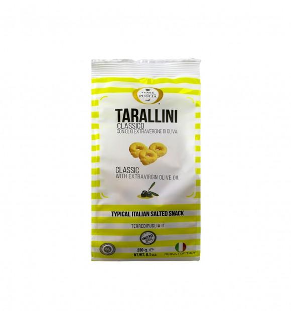 Tarallini huile d'olive, Millerighe (230 g)