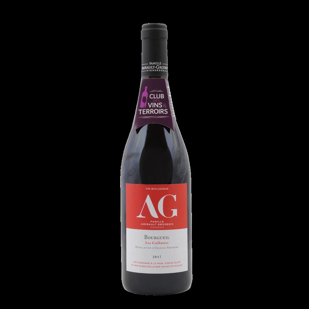 Bourgueil AOP rouge Les Caillottes Famille Amirault BIO 2018 (75 cl)