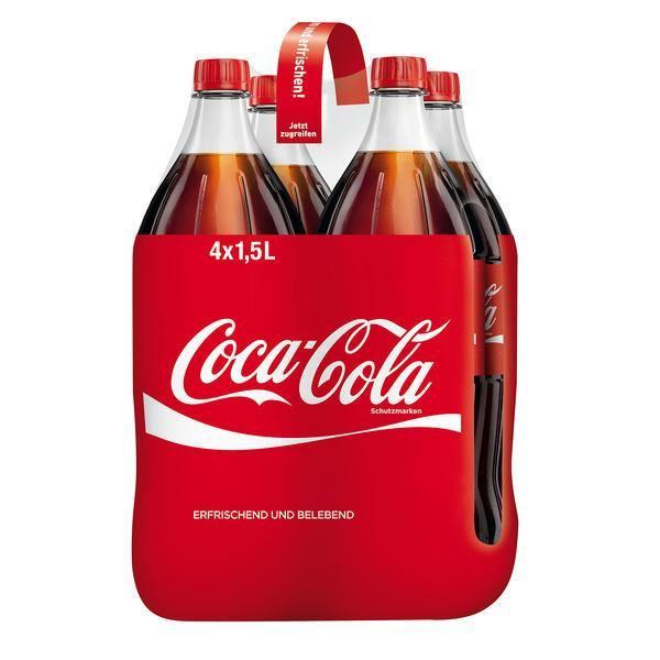 Coca-Cola (4 x 1.5 l)