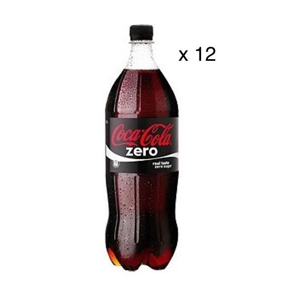Coca-Cola Zéro (12 x 1 L)