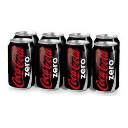 Coca-Cola Zero (8 x 33 cl)