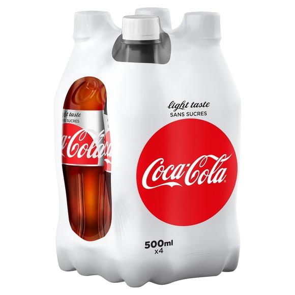 Coca-Cola Light Taste (4 x 50 cl)