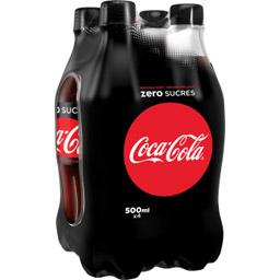 Coca-Cola Zéro (4 x 50 cl)