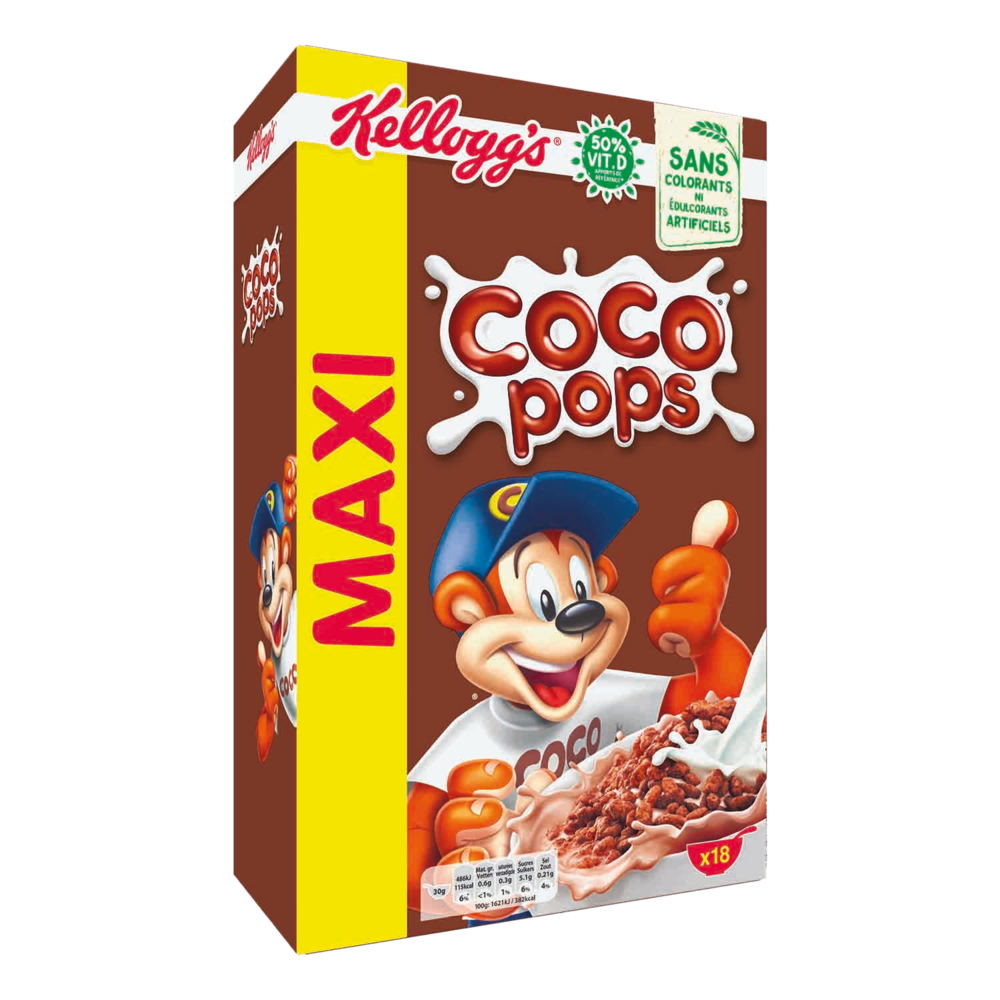 Céréales Coco Pops, Kellogg's (550 g)