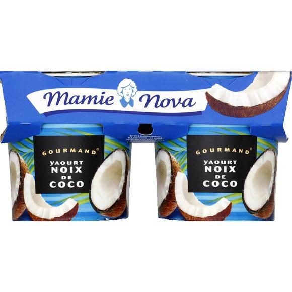 Yaourt Noix Coco, Mamie Nova (2 x 150 g)