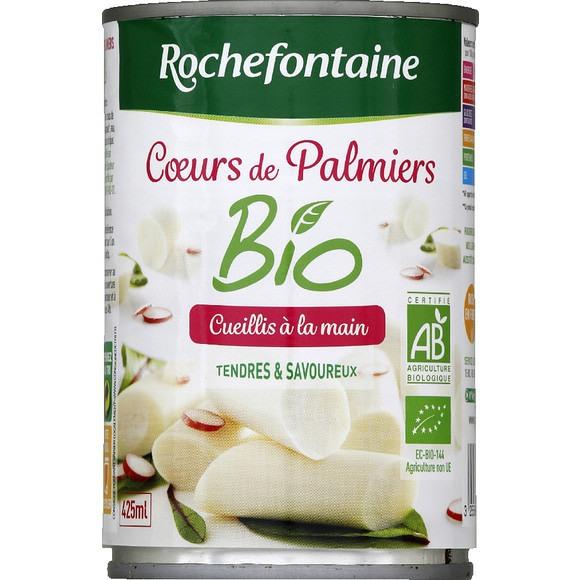 Coeur de palmier BIO, Rochefontaine (400 g)