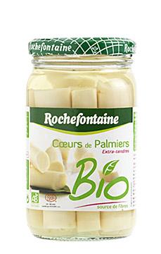 Coeur de palmier BIO, Rochefontaine (219 g)