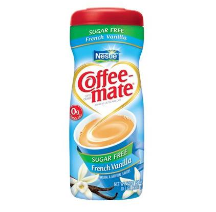 Coffee mate vanille sans sucre, Nestlé (289 g)