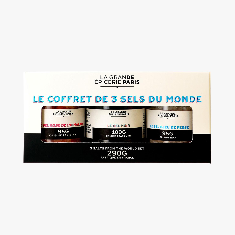 Coffret 3 sels du monde, La Grande Epicerie de Paris (x 3, 290 g)