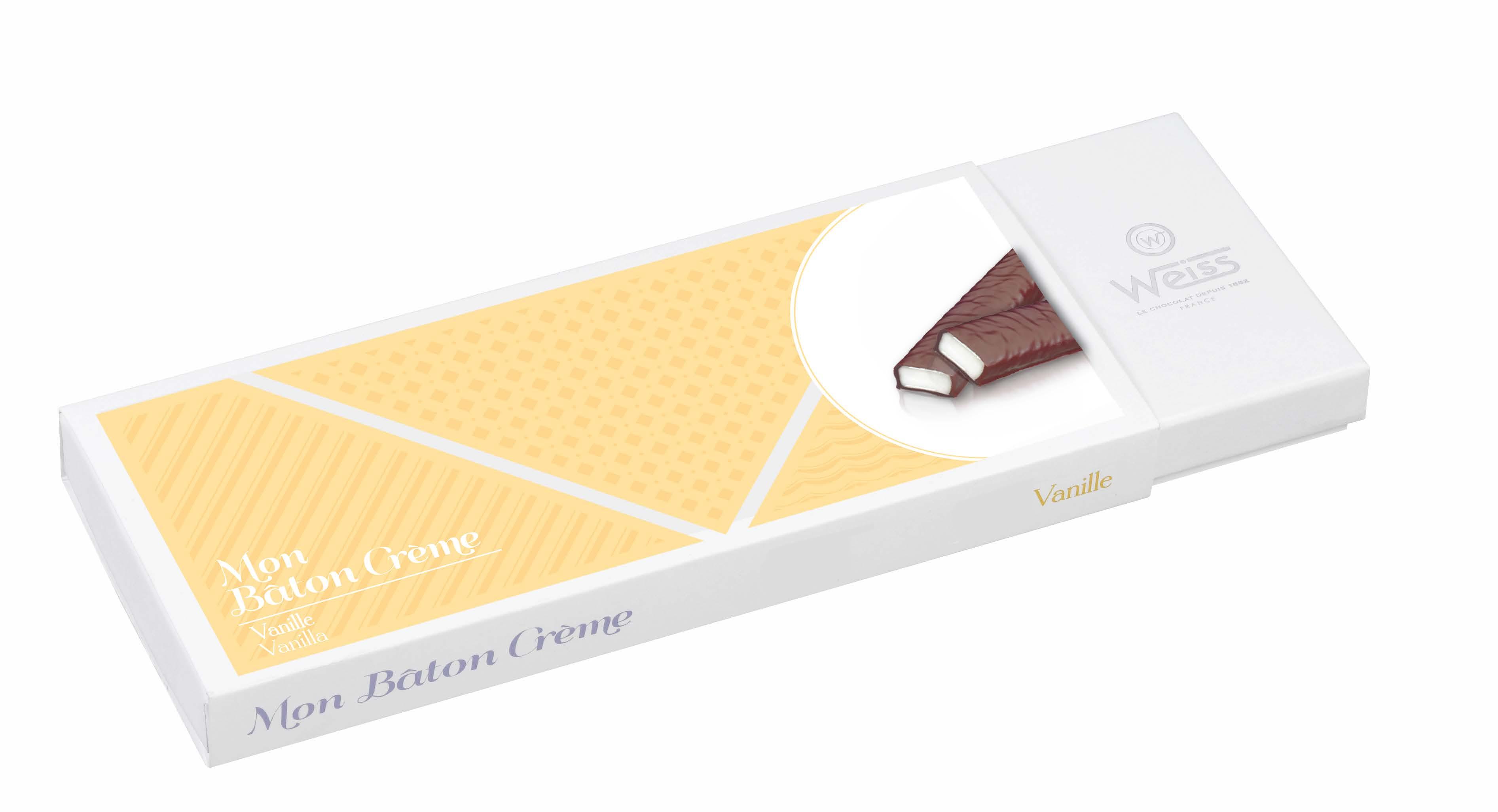 Coffret de bâtons crème vanille, Weiss (240 g)