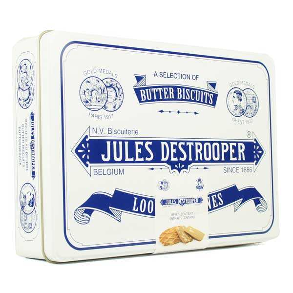 Coffret métal Rétro large, Jules Destrooper (350 g)