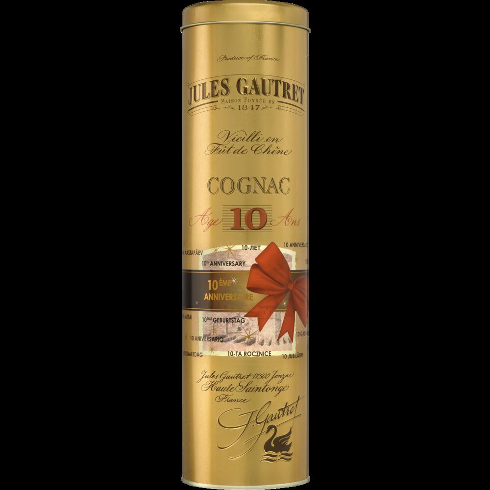 Cognac 10 ans d'âge, Jules Gautret (70 cl)