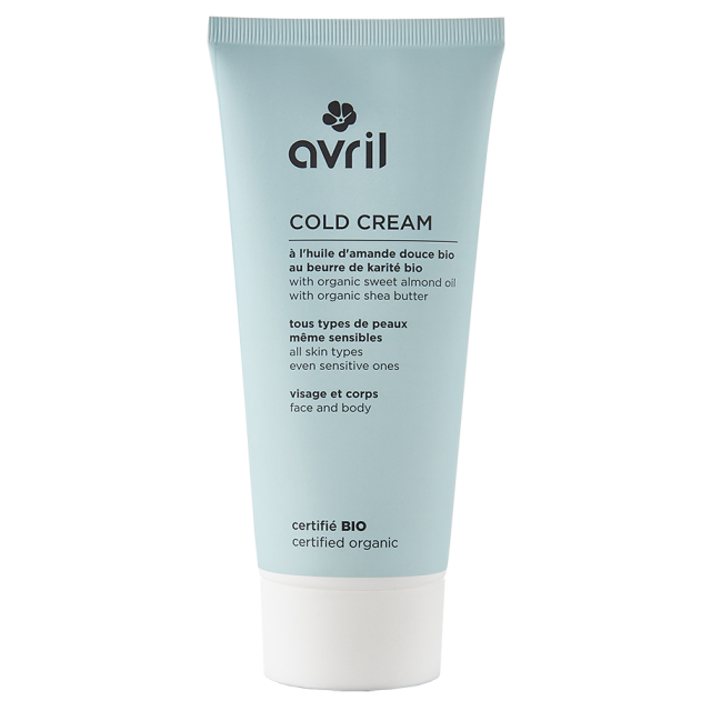 Cold cream certifiée BIO, Avril (200 ml)