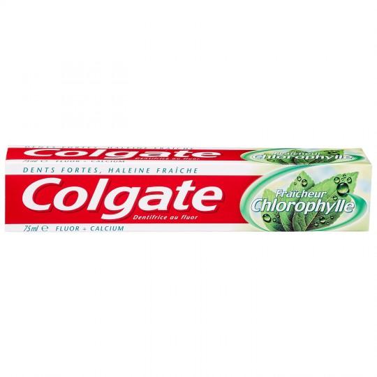 Dentifrice chlorophylle, Colgate (75 ml)