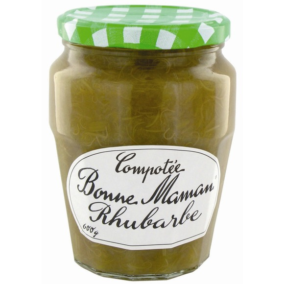 Compotée de rhubarbe, Bonne Maman (600 g)