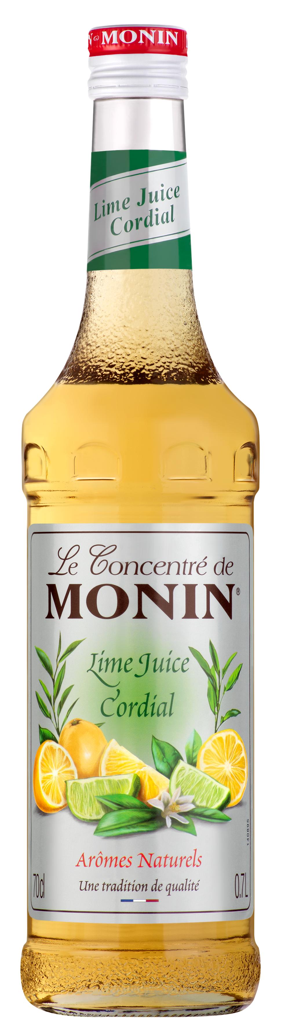 Concentré Lime Juice Cordial, Monin (70 cl)