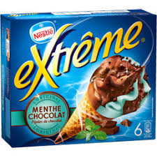 Cône Menthe Chocolat, Extreme (x 6)