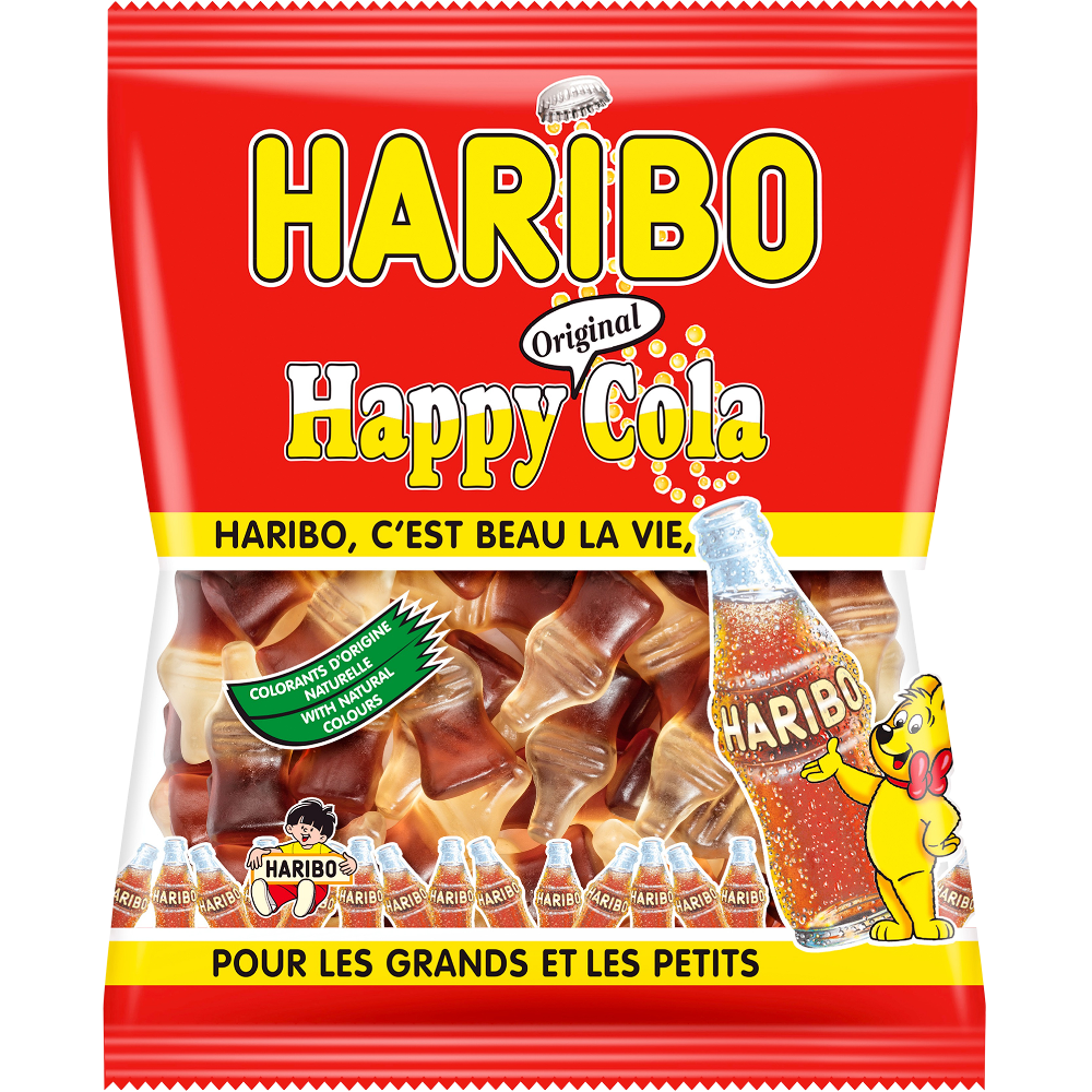 Bonbons Happy Cola, Haribo (300 g)