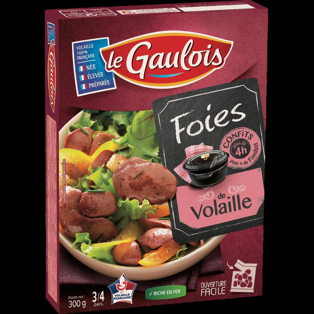 Confit de foies de volaille, Le Gaulois (300 g)