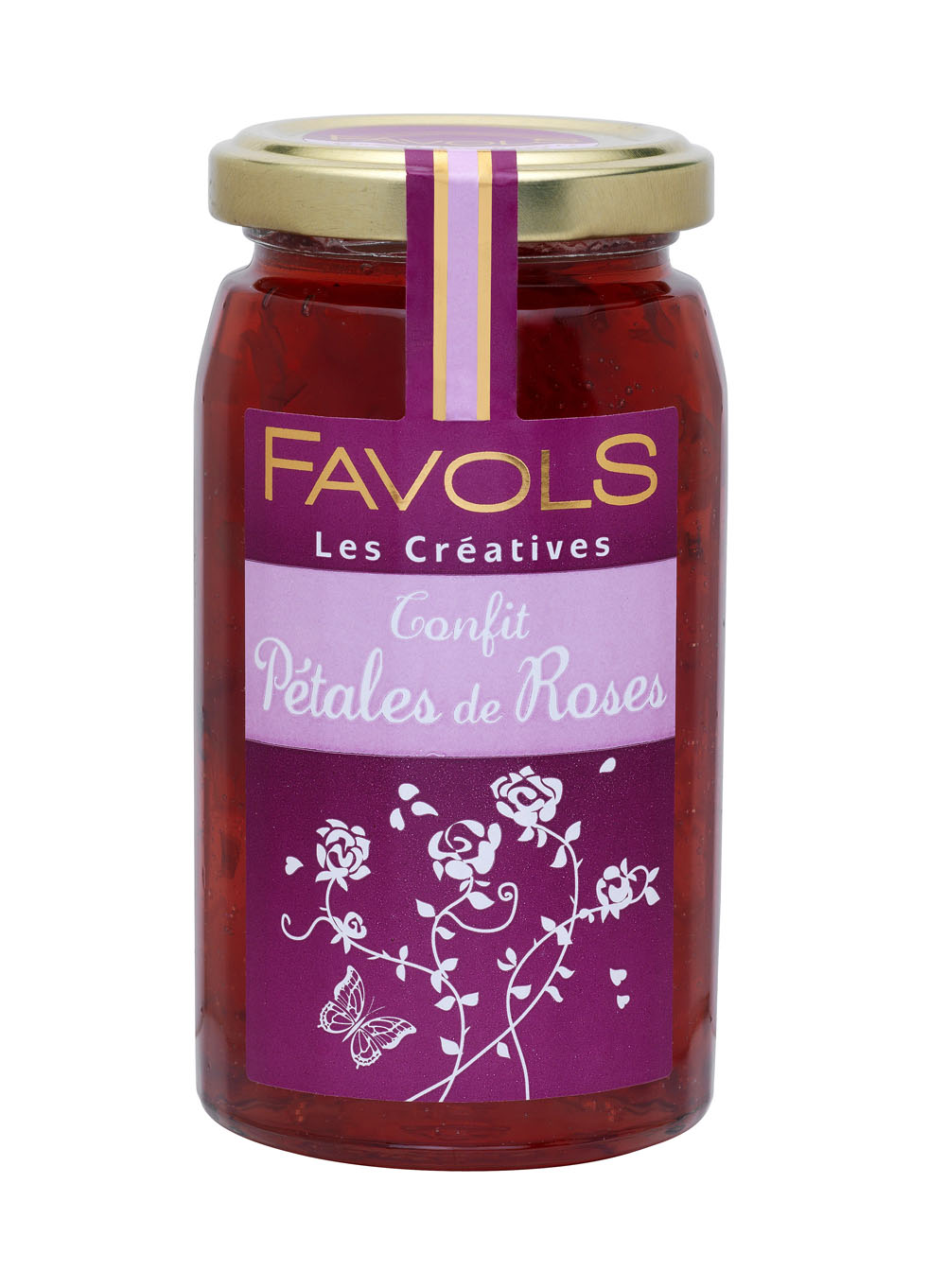Confit aux pétales de rose, Favols (270 g)