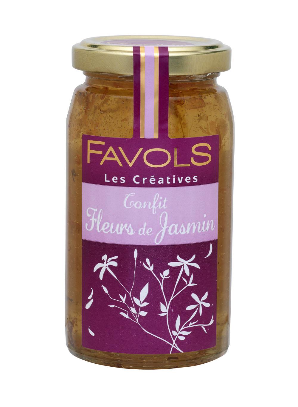 Confit de fleurs de jasmin, Favols (270 g)