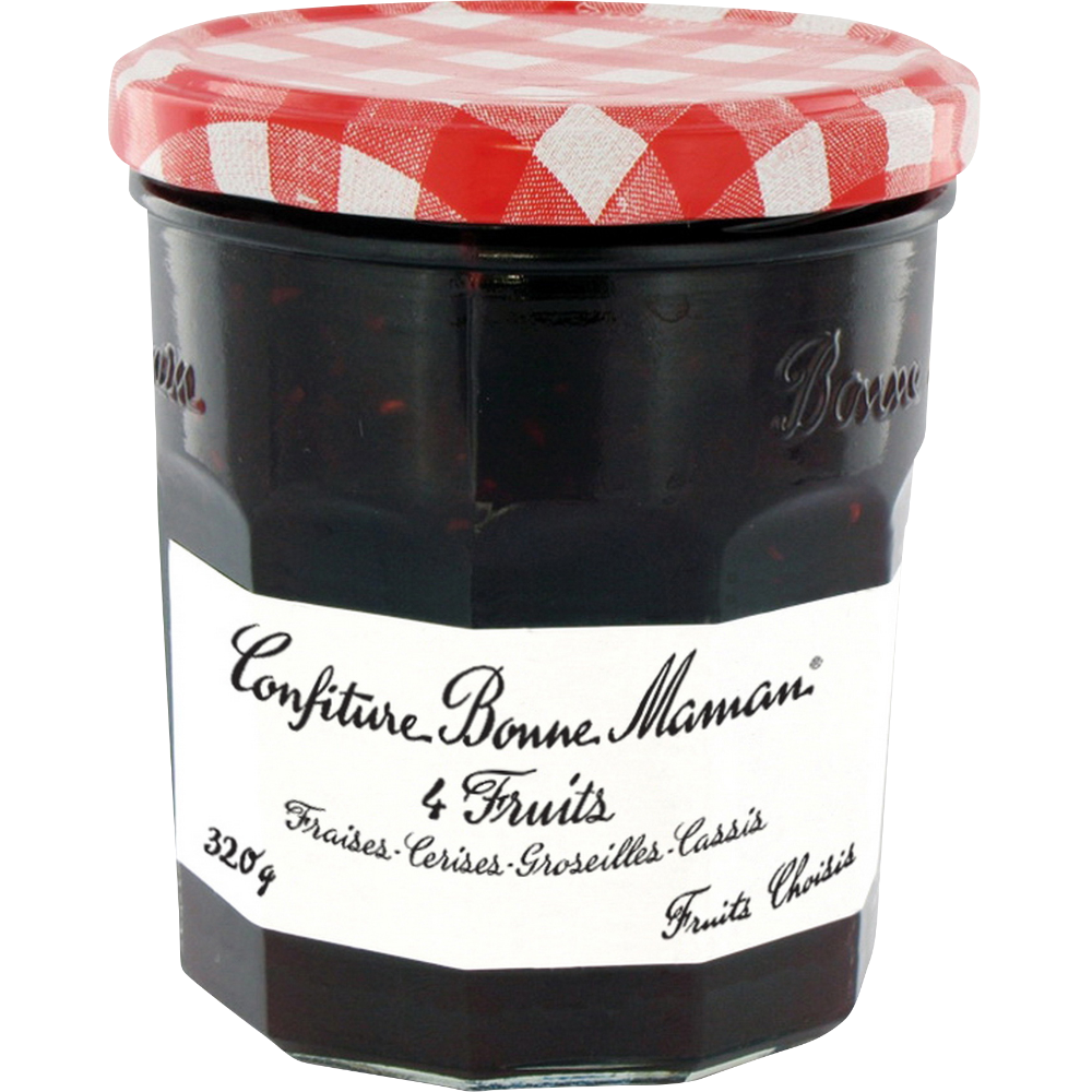 Confiture 4 fruits, Bonne Maman (320 g)