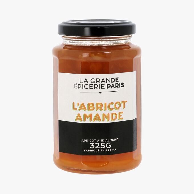 Confiture d'abricot et amandes effilées, La Grande Epicerie de Paris (325 g)