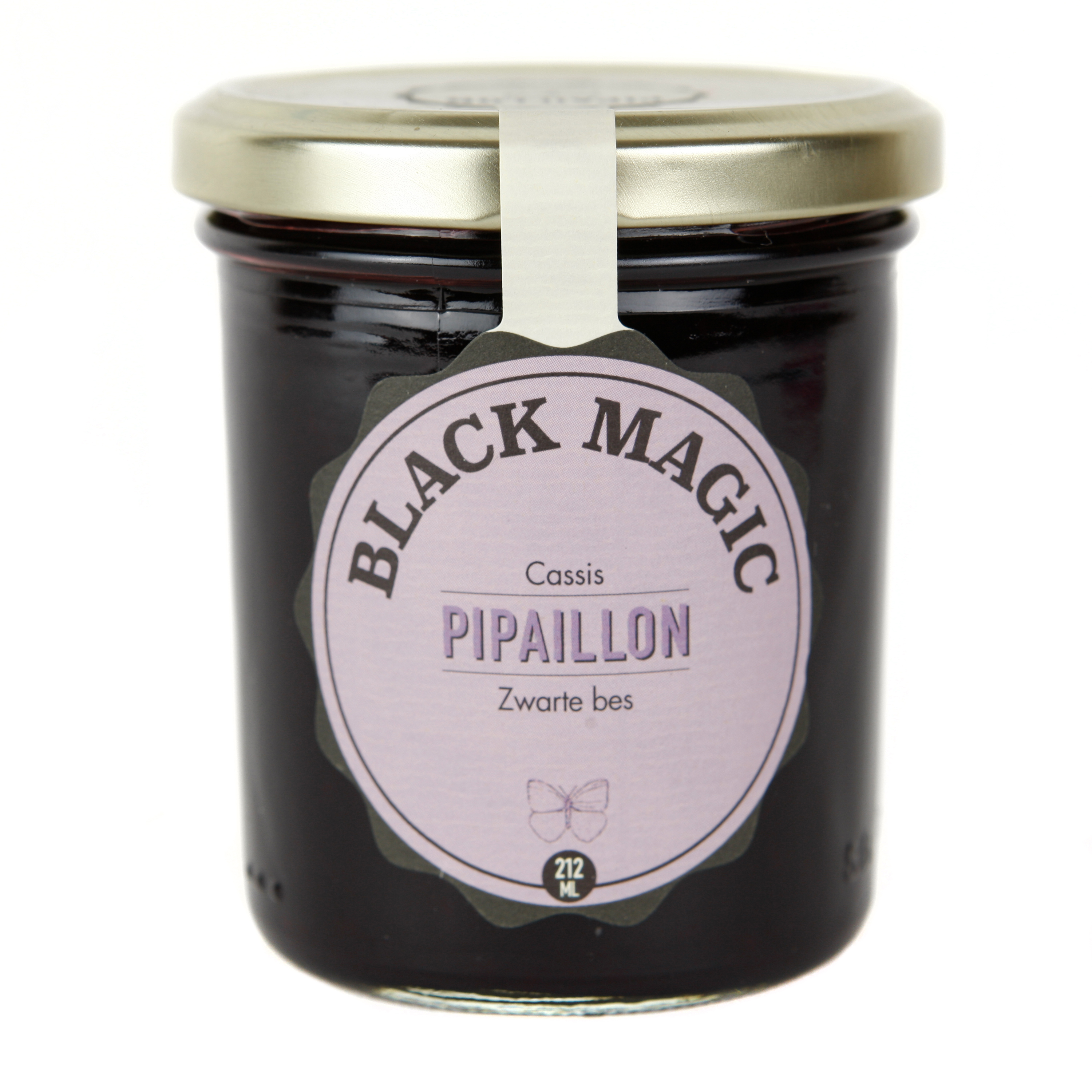 Confiture Black Magic - Cassis BIO, Pipaillon (212 ml)