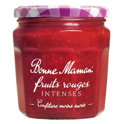 Confiture de fruits rouges intense, Bonne Maman (335 g)