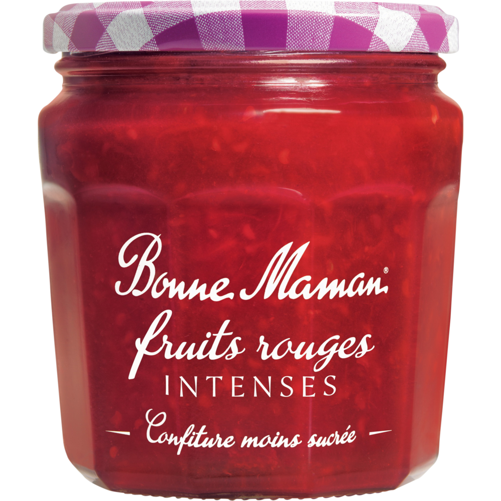 Confiture de fruits rouges intense, Bonne Maman (335 g)
