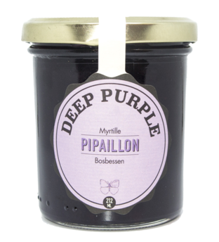 Confiture Deep Purple - Myrtille BIO, Pipaillon (212 ml)