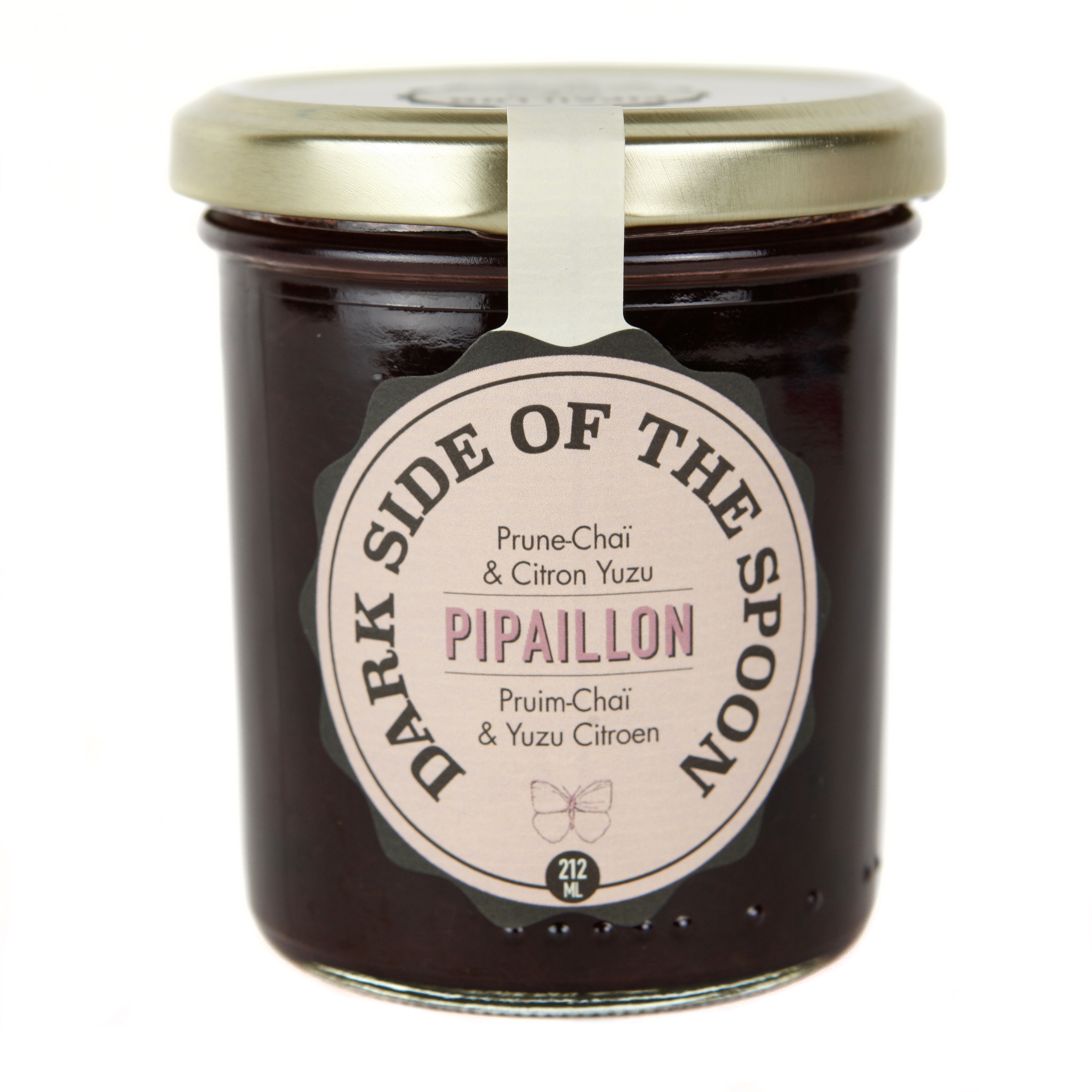 Confiture Dark Side of The Spoon - Prune, Chaï et Yuzu BIO, Pipaillon (212 ml)