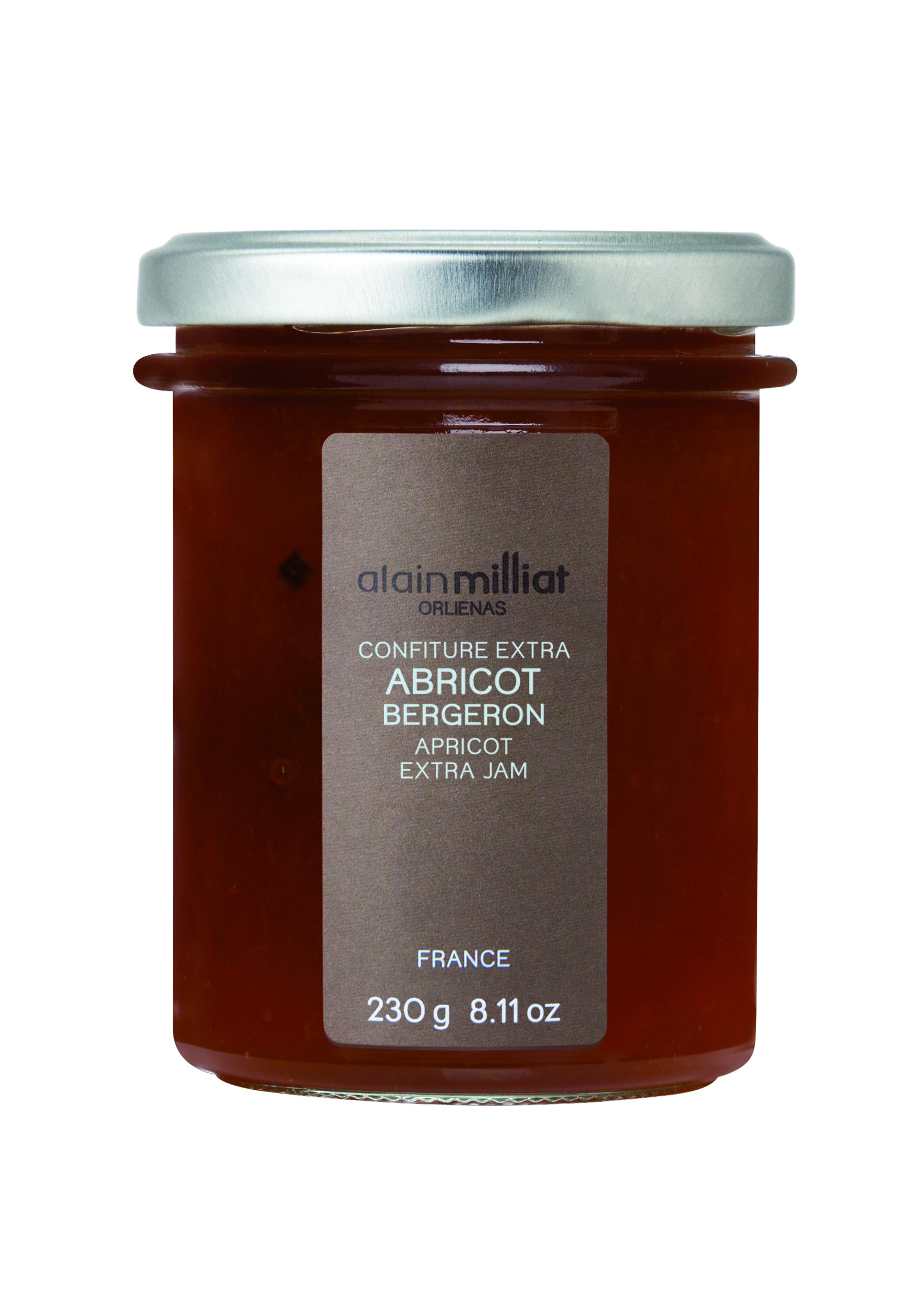 Confiture Extra Abricot Bergeron, Alain Milliat (230 g)