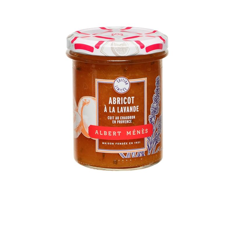 Confiture Extra d'Abricot à la Lavande, Albert Ménès (280 g)
