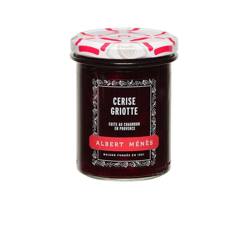 Confiture Extra de Cerise Griotte, Albert Ménès (280 g)