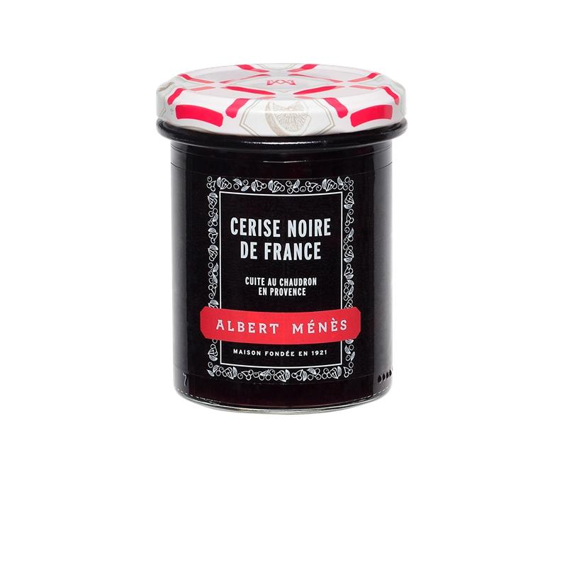 Confiture Extra de Cerise Noire de France, Albert Ménès (280 g)