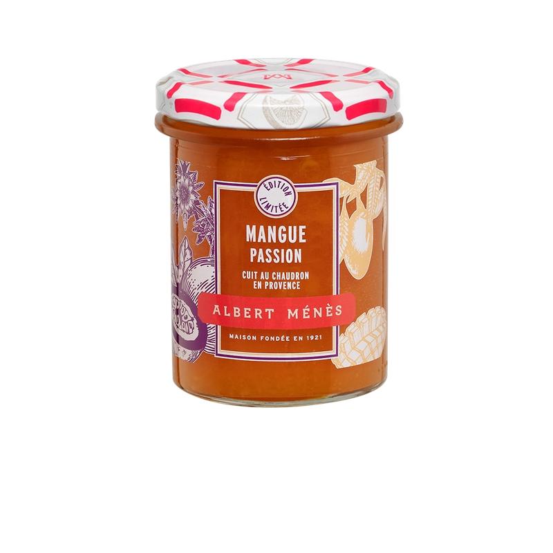 Confiture Extra de Mangue et de Fruit de la Passion, Albert Ménès (280 g)