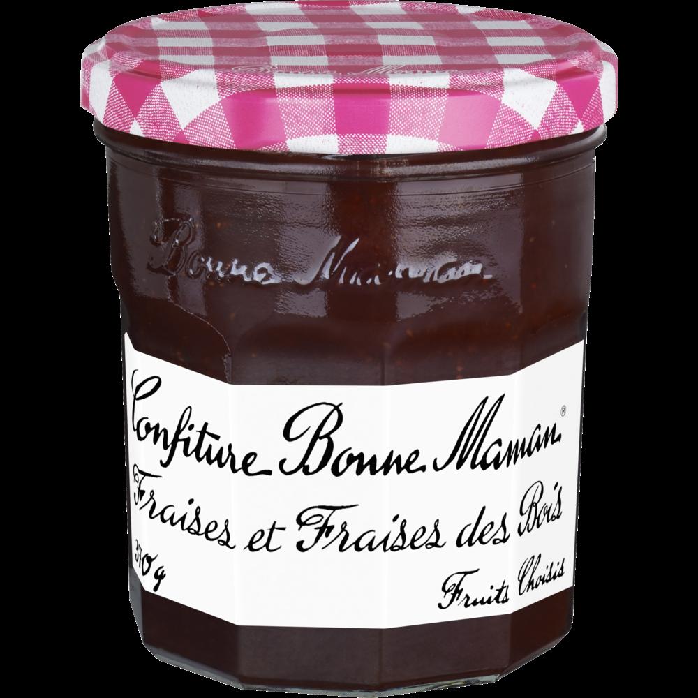 Confiture fraises & fraises des bois, Bonne Maman (370 g)