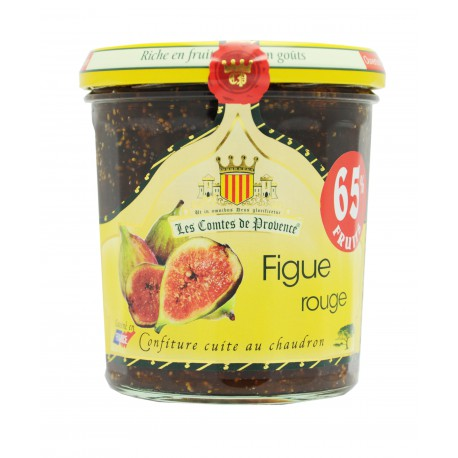 Confiture de figues rouges, Comtes de Provence (340 g)